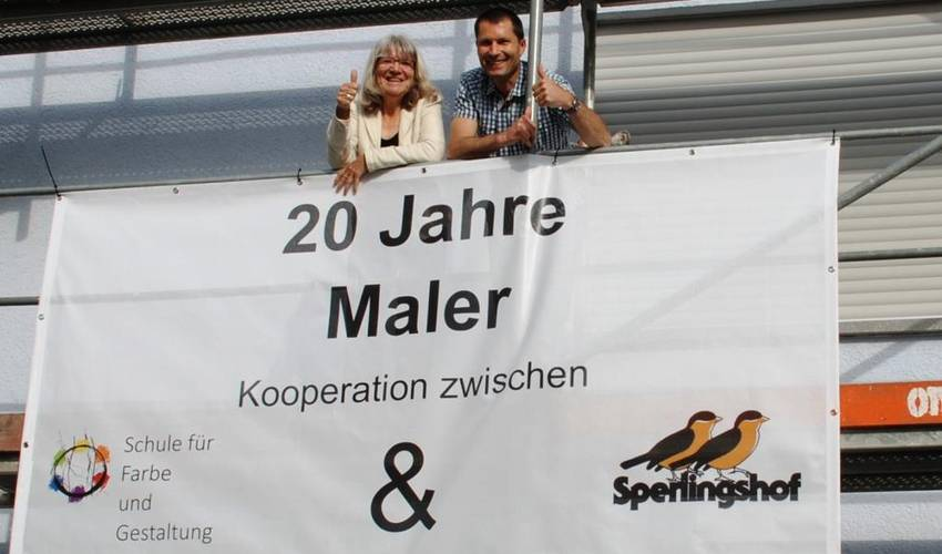 Sperlingshof Maleraktion