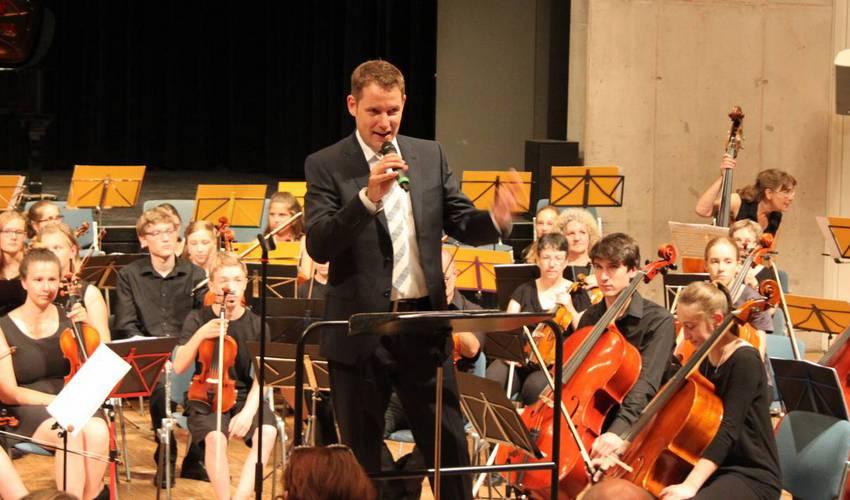 Jubiläum der Musikschule in Wilferdingen