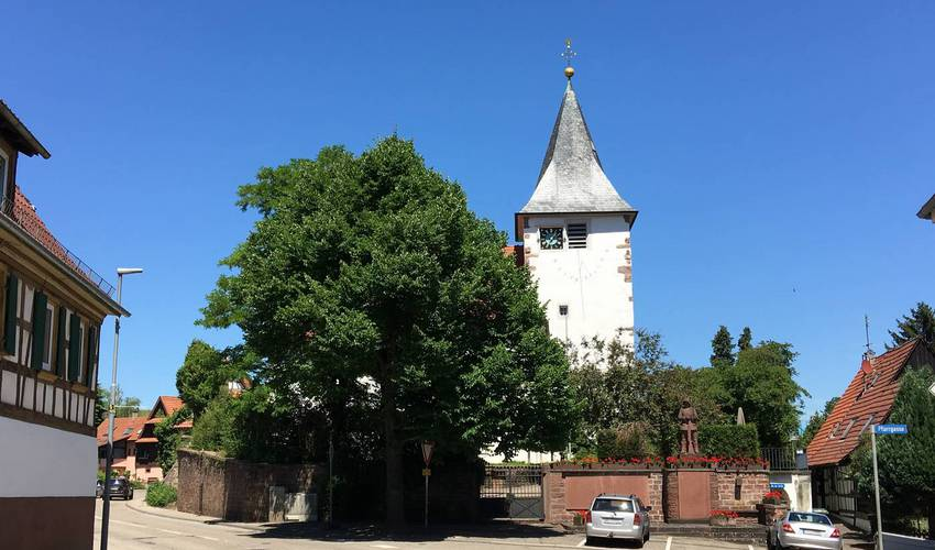 Nöttingen Kirche