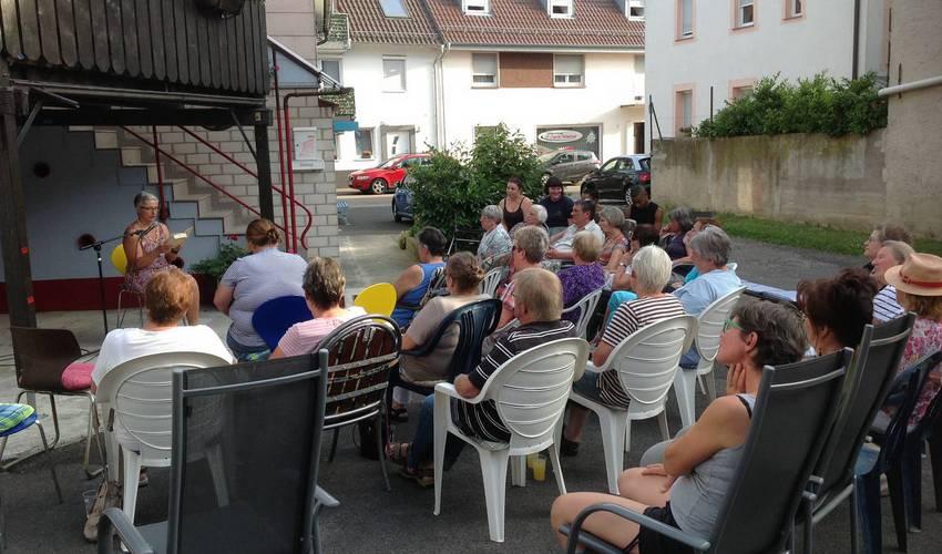 Remchingen Liiiiiest mit Silke Secka (Foto: Barbara Casper)