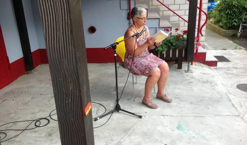 Silke Secka liest (Foto: Barbara Casper)